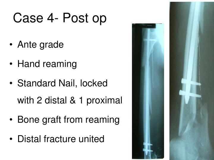 Case 4- Post op