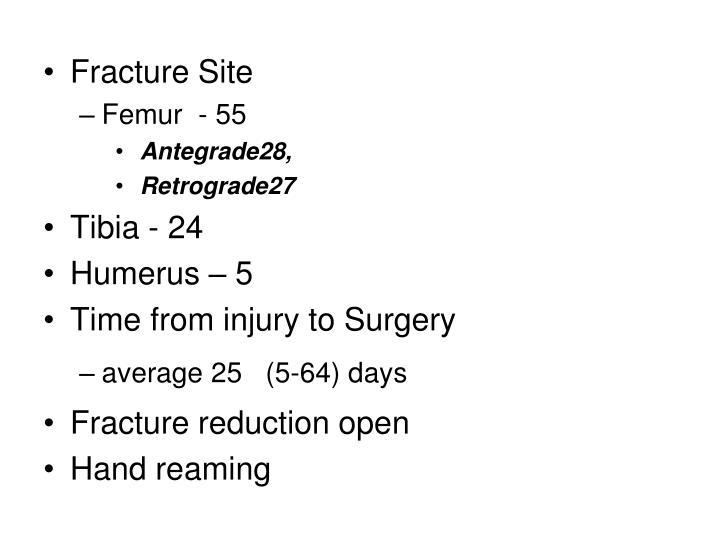 Fracture Site