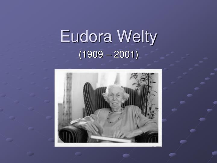 eudora welty s a visit of charity Eudora welty's short story, 'a visit of charity' is about a girl called marian who is apart of the campfire girls she goes to an old people's home to earn extra brownie points marian ends up in a room with an old woman called addie and another old woman whose name is not said.