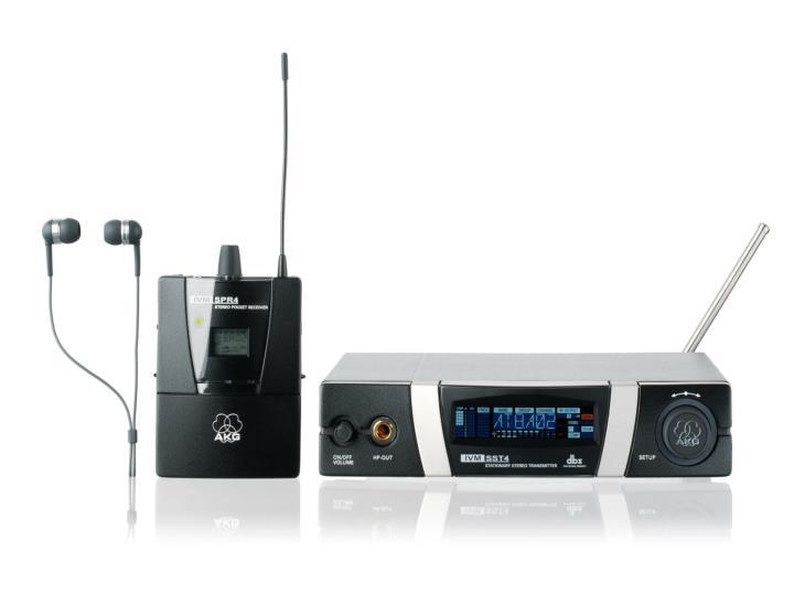 Setup receiver antennas