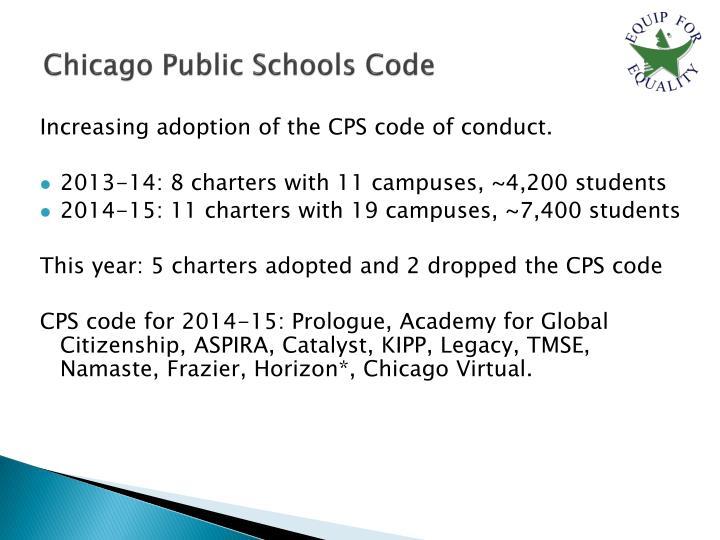 Chicago Public Schools Code
