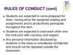 rules of conduct cont1