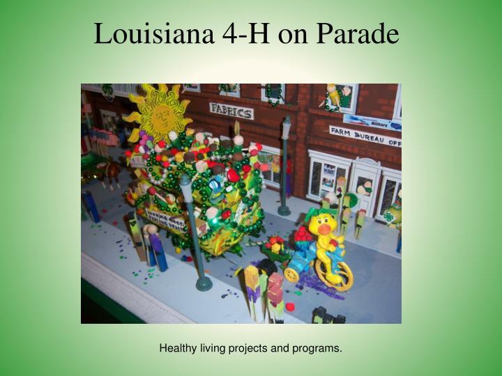 Louisiana 4-H on Parade