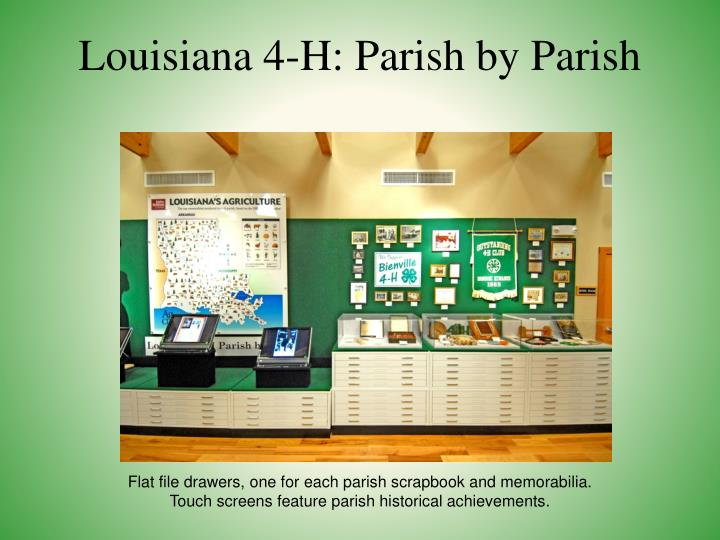 Louisiana 4-H: Parish by Parish