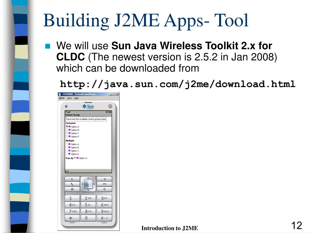 PPT - Introduction to J2ME PowerPoint Presentation - ID:6022729