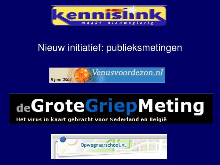 Nieuw initiatief: publieksmetingen