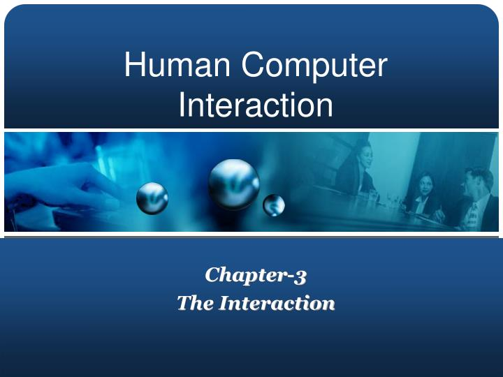 chapter 3 the interaction n.