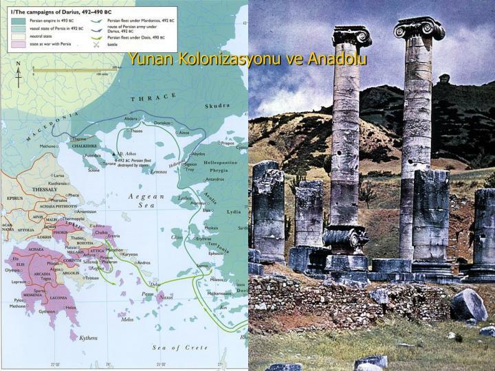 Yunan Kolonizasyonu ve Anadolu