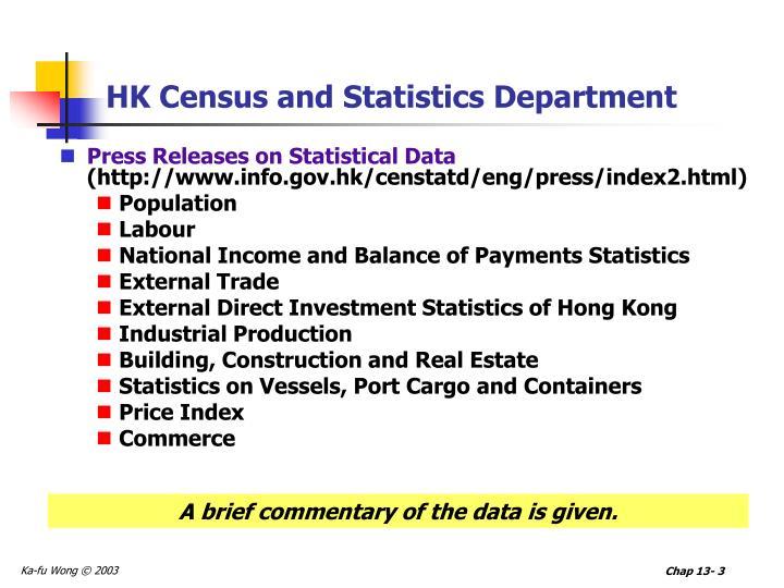 Hk census and statistics department