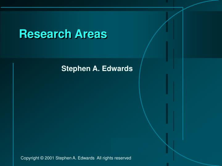 research areas n.