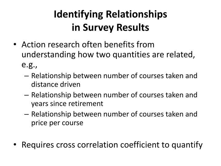 Identifying Relationships