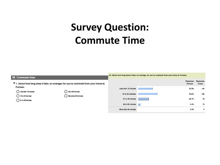 Survey Question: