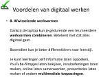 voordelen van digitaal werken14