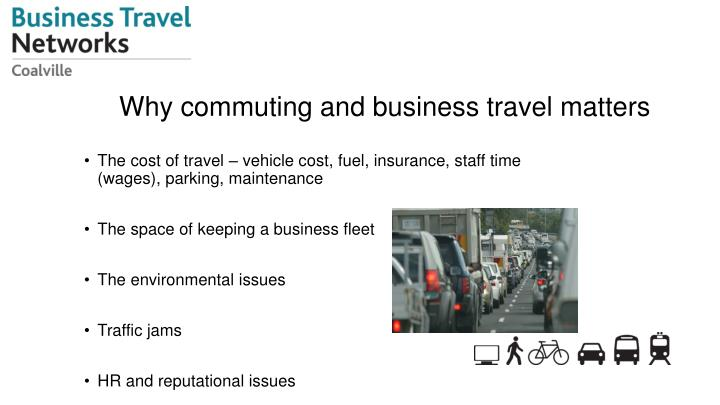 Why commuting and business travel