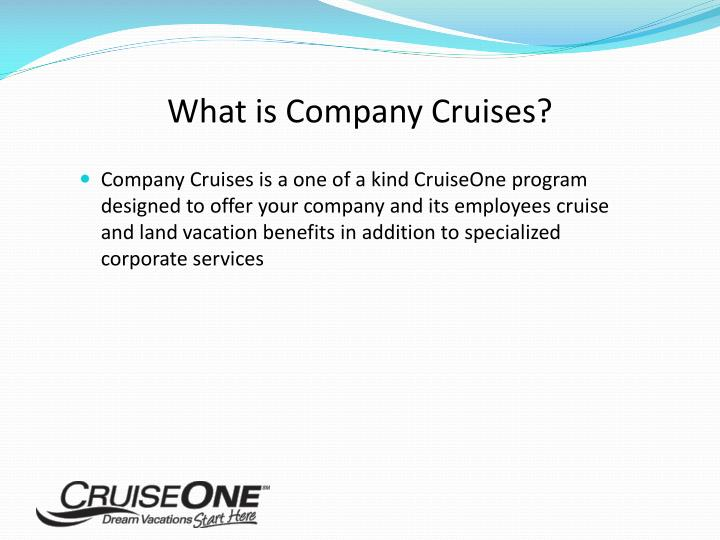 What is Company Cruises?
