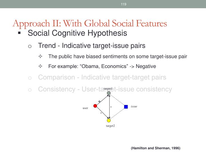 Approach II: With Global Social Features