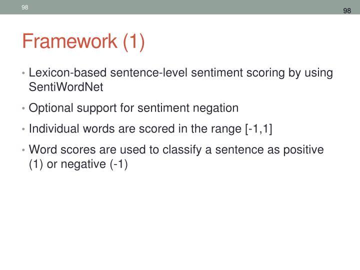 Framework (1)