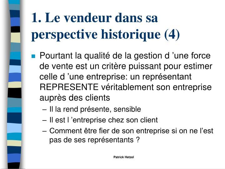 1. Le vendeur dans sa perspective historique (4)