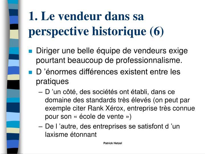 1. Le vendeur dans sa perspective historique (6)