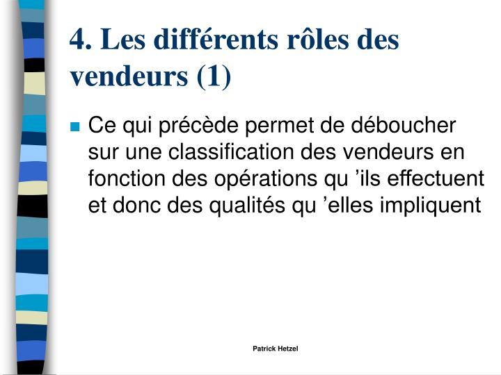 4. Les différents rôles des vendeurs (1)