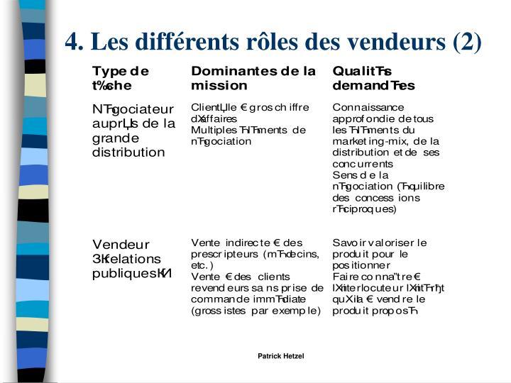4. Les différents rôles des vendeurs (2)