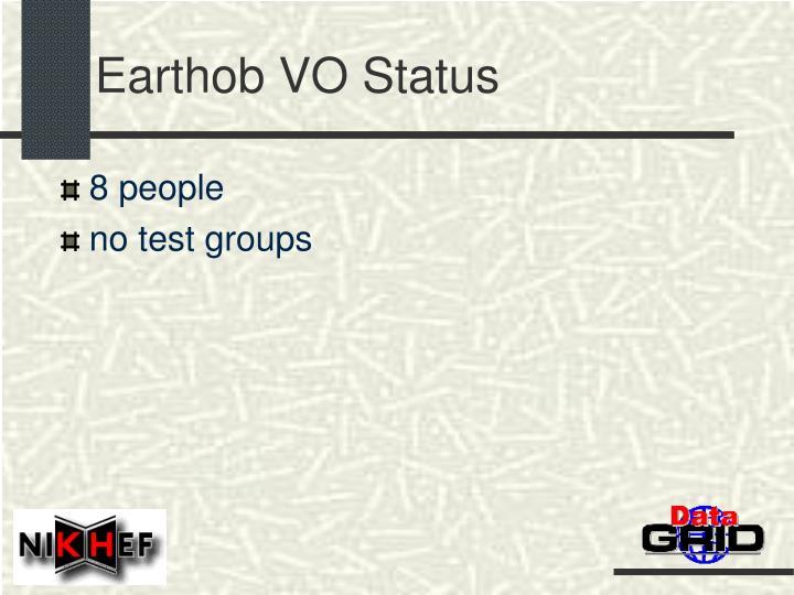 Earthob VO Status