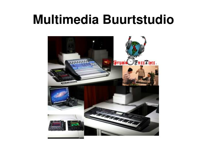 Multimedia Buurtstudio