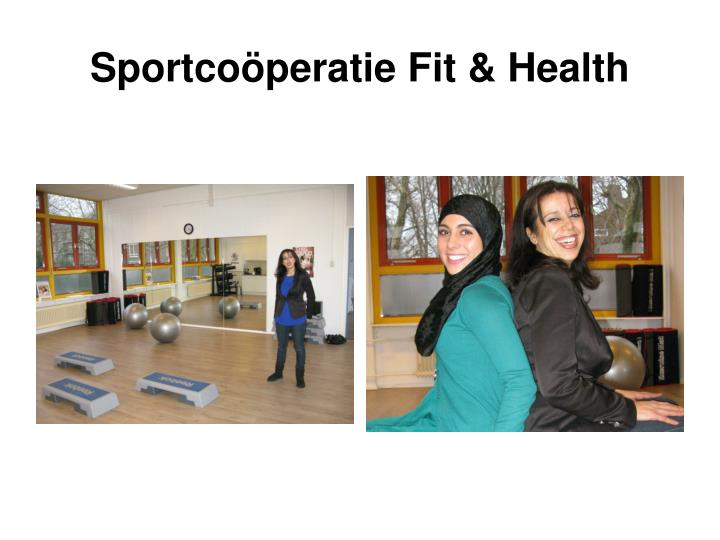Sportcoöperatie Fit & Health