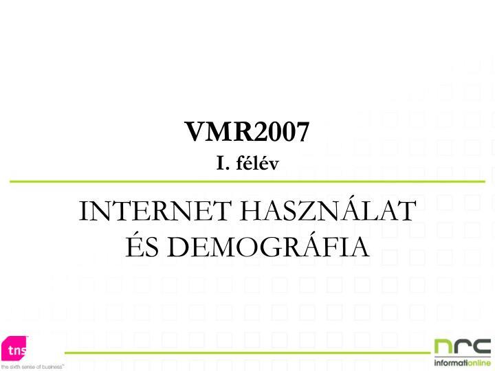 VMR2007