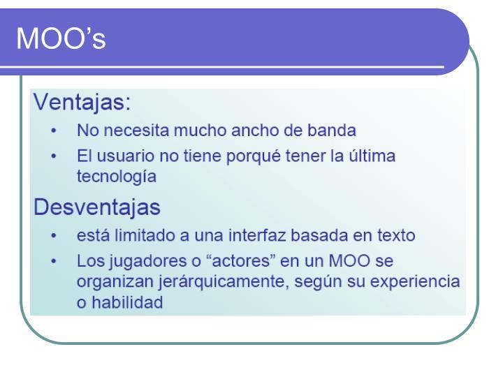 MOO's
