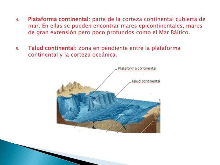 Plataforma continental: