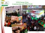 kcai career zone in partnership with pro plan