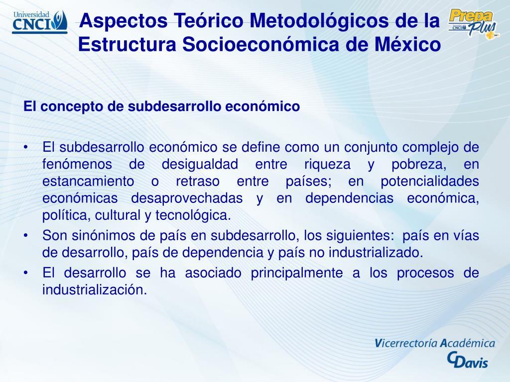 Ppt Guía Modular De Estudio Estructura Socioeconómica De