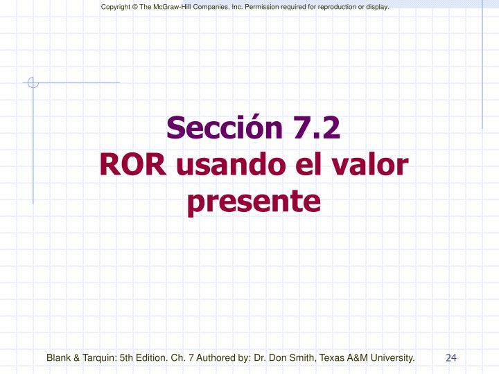 Sección 7.2