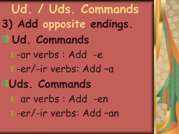 Ud uds commands1