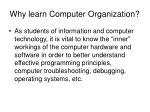 why learn computer organization