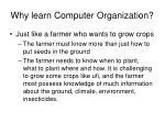 why learn computer organization1