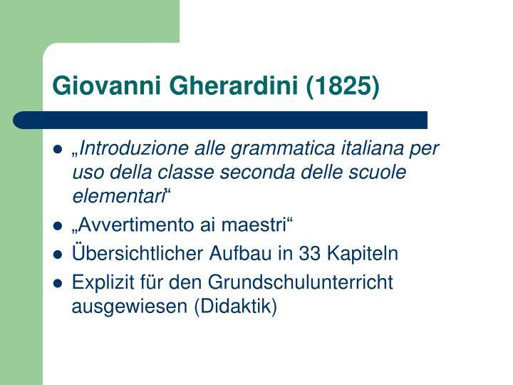 Giovanni Gherardini (1825)