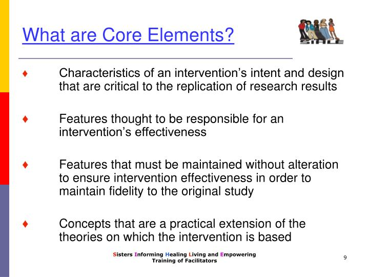 What are Core Elements?