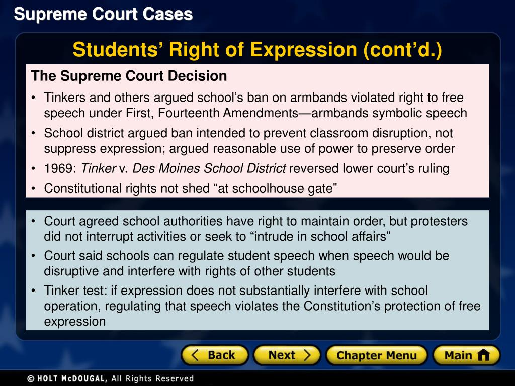 Evaluate the extent to which the first amendment should