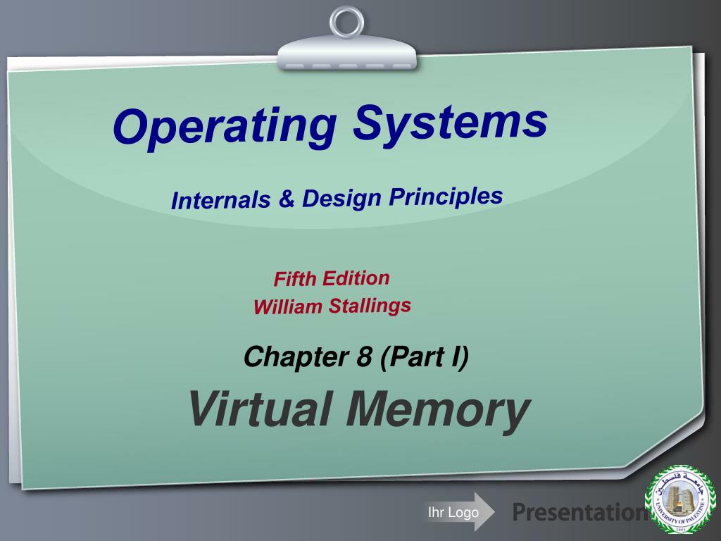 Ppt Operating Systems Internals Design Principles Fifth Edition William Stallings Powerpoint Presentation Id 6027672