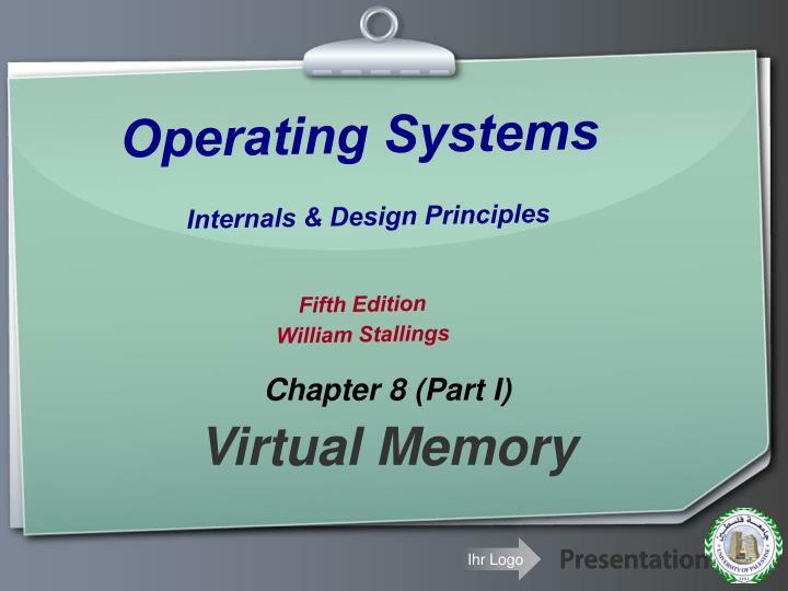 Ppt Operating Systems Internals Design Principles Fifth Edition