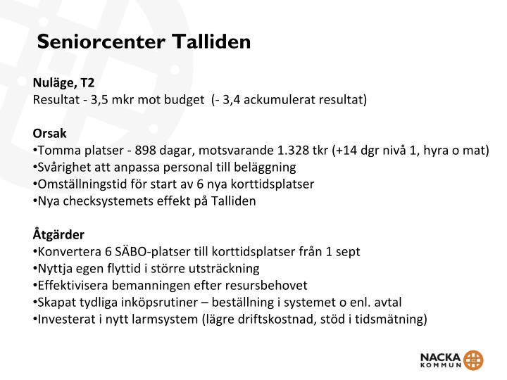 Seniorcenter Talliden