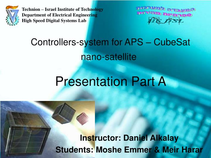 controllers system for aps cubesat nano satellite