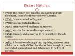 disease history 2