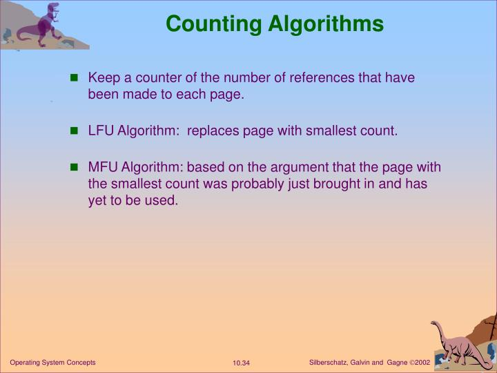 Counting Algorithms