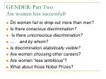 gender part two are women less successful