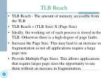 tlb reach