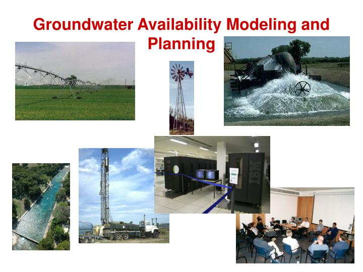 Groundwater Availability Modeling and Planning