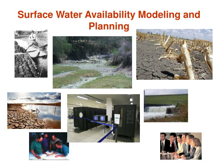 Surface Water Availability Modeling and Planning